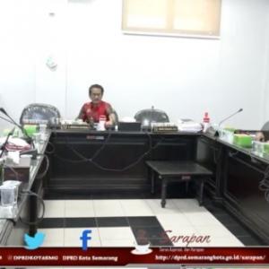 Rapat Pansus Reklame DPRD Kota Semarang