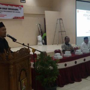 Jauhar Awaluddin: Suasana Kerukunan Agama di Kota Semarang Kondusif