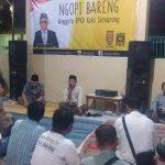 Johan Rifa'i  Ngopi Bareng Konstituen di Dapil VI Kota Semarang
