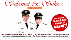 Ini Harapan PKS Kota Semarang Usai Hendi-Ita Resmi Dilantik Jadi Wali Kota-Wakil Wali Kota
