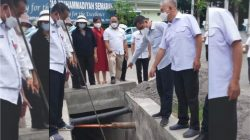Monitoring Pembangunan Drainase, Komisi C DPRD Kota Semarang: Insyaallah Musim Hujan Air tak Melimpas ke Jalan
